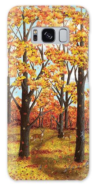 Autumn Meadow Galaxy Case