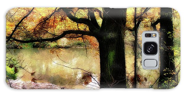 Autumn Oak Tree Galaxy Case