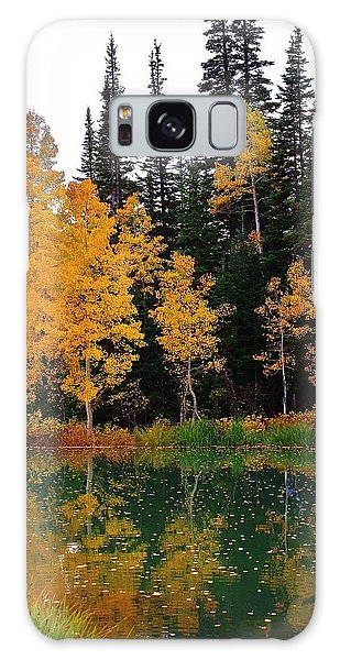 Autumn Reflections Galaxy Case by Bruce Bley