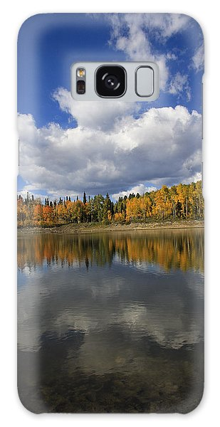 Autumn Reflections Portrait Galaxy Case