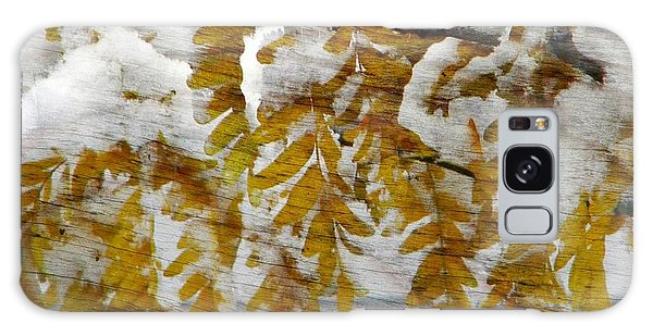 Autumn Snow Galaxy Case by Michelle Frizzell-Thompson