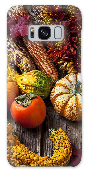 Gourd Galaxy Case - Autumn Still Life Colors by Garry Gay