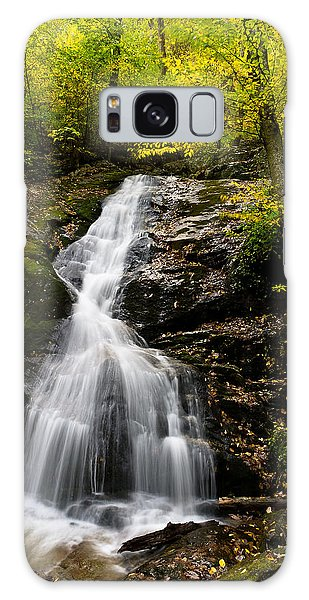 Autumn Waterfall Galaxy Case