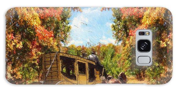 Autumn's Essence Galaxy Case