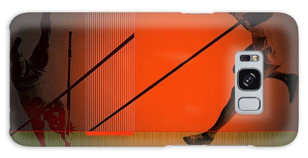 Sportsman Galaxy Case - Awkward by Naxart Studio