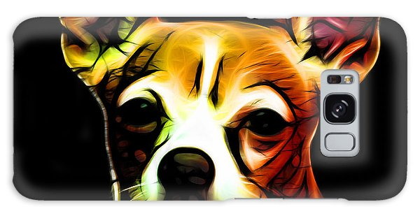 Aye Chihuahua - Orange Galaxy Case