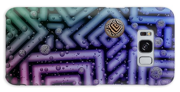 Azteca 1 Galaxy Case by Mark Fuller