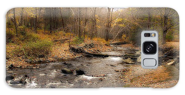 Babbling Brook In Autumn Galaxy Case