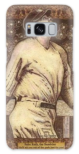 Babe Ruth The Bambino  Galaxy Case