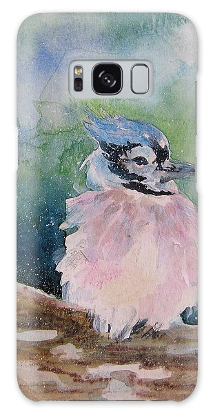 Baby Blue Jay Galaxy Case by Gloria Turner