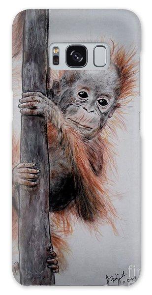 Baby Orangutan  Galaxy Case