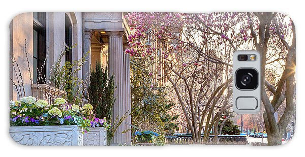 Back Bay Spring Galaxy Case by Susan Cole Kelly