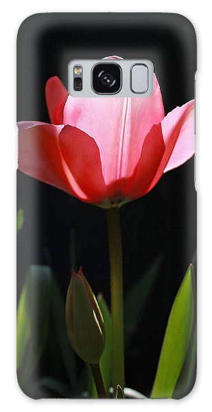 Back Lite Tulip Galaxy Case