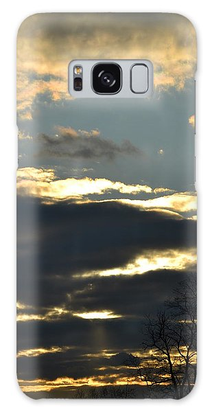 Backlit Clouds Galaxy Case