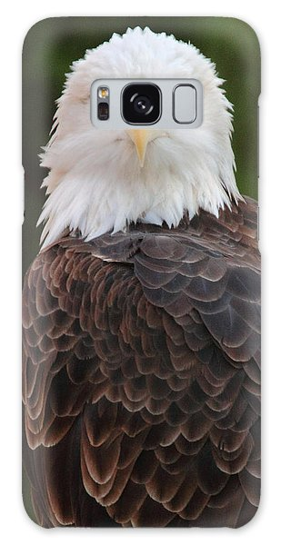 Bald Eagle Galaxy Case by Coby Cooper
