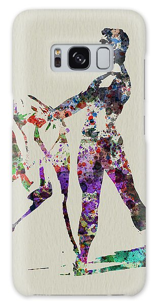 Beautiful Galaxy Case - Ballet Dance by Naxart Studio