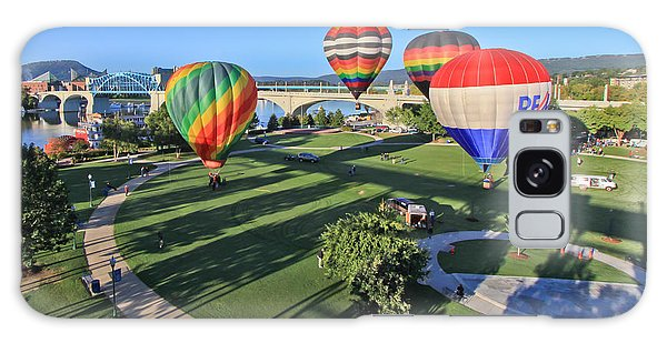 Balloons In Coolidge Park Galaxy Case