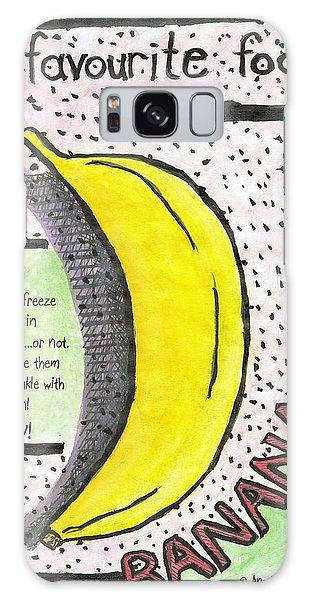 Banana Galaxy Case by Ana Tirolese