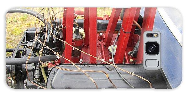 Barbwire Engine Galaxy Case by Kym Backland