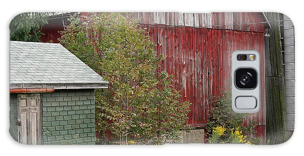 Barn Buildings Galaxy Case