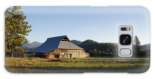 Barn In The Applegate Galaxy Case by Mick Anderson
