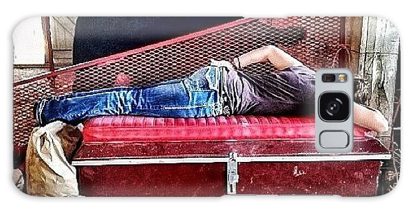 Ohio Galaxy Case - Barn Nap by Natasha Marco