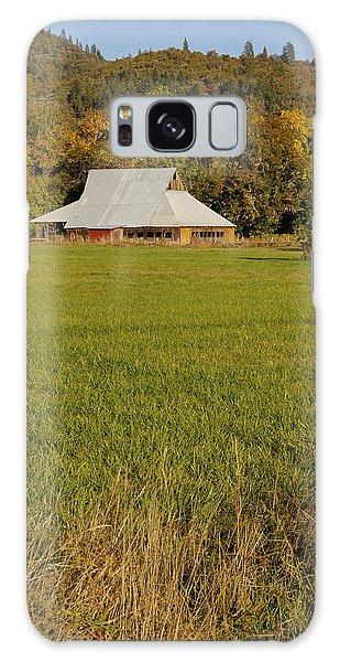 Barn Near Murphy Galaxy Case by Mick Anderson