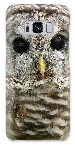 Barred Owl Galaxy Case by Cindy Haggerty