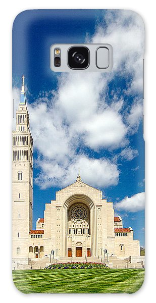 Basilica Of The National Shrine Of The Immaculate Conception Galaxy Case by Dan Wells