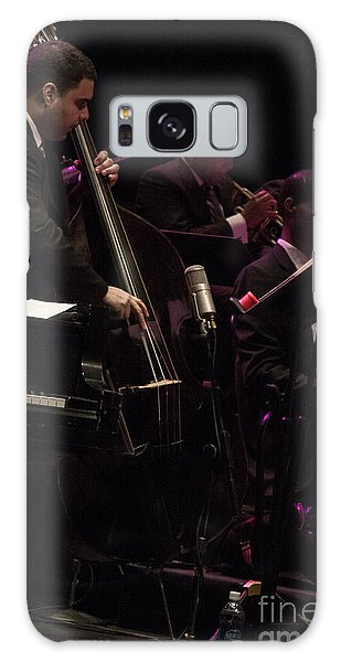 Bass Player Jams Jazz Galaxy Case by Darleen Stry