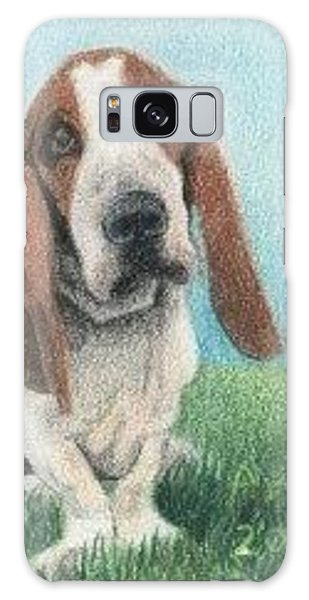 Basset Hound - Aceo Galaxy Case by Ana Tirolese
