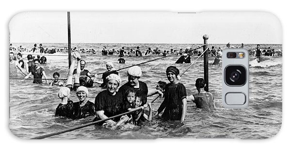 Bathing In The Gulf Of Mexico - Galveston Texas  C 1914 Galaxy Case