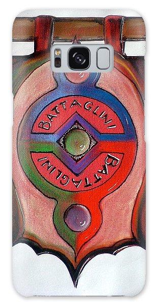 Battaglini Family Crest Galaxy Case
