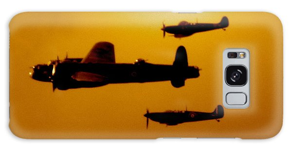 Battle Of Britain Flight At Dusk Galaxy Case by John Colley