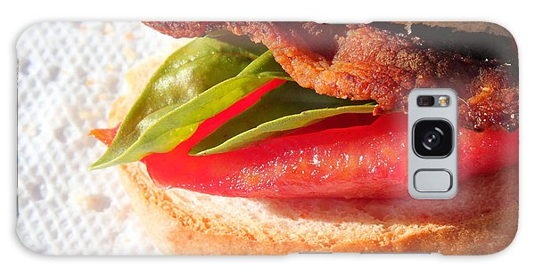 Bbt Bacon Basil Tomato Galaxy Case