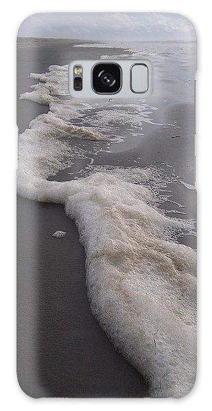 Beach Foam Art Galaxy Case by Peter Mooyman