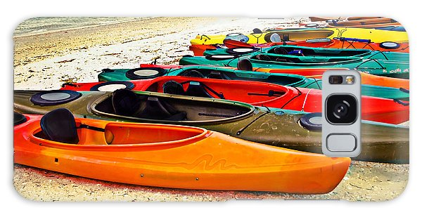 Beach Kayaks Galaxy Case