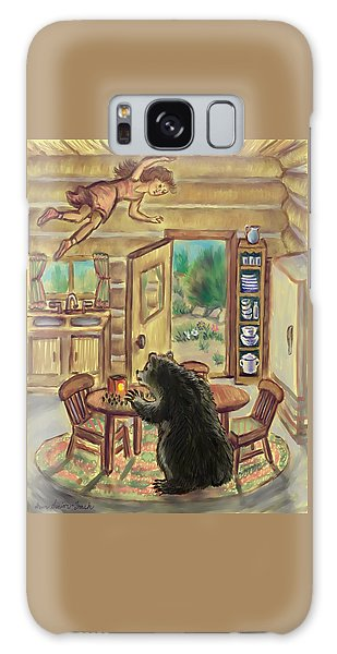 Bear In The Kitchen - Dream Series 7 Galaxy Case by Dawn Senior-Trask
