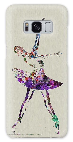 Beautiful Galaxy Case - Beautiful Ballerina by Naxart Studio
