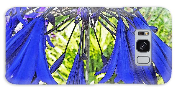 Beautiful Bluebells Close-up Galaxy Case by Anne Mott