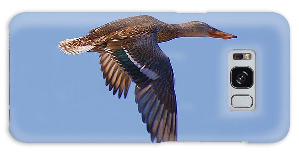 Beautiful Duck Flying Galaxy Case