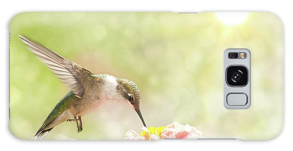 Beautiful Hummingbird Galaxy Case