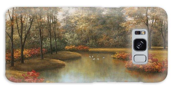 Beauty Of Autumn Galaxy Case