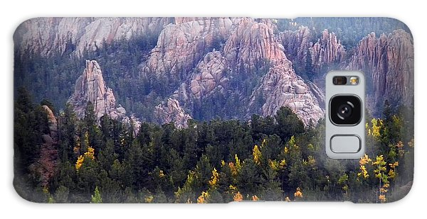 Beginning Of Mountain Fall Galaxy Case by Michelle Frizzell-Thompson