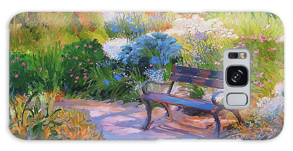 Bench On Margaret Island Galaxy Case