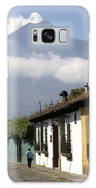 Beneath The Volcano Antigua Guatemala Galaxy Case