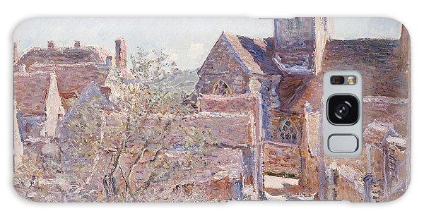 Town Galaxy Case - Bennecourt by Claude Monet