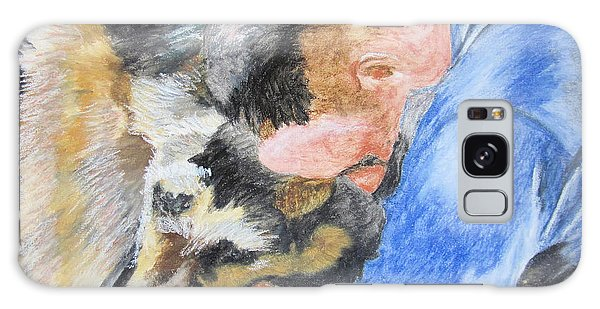 Best Friends - Oil Pastels Study Galaxy Case