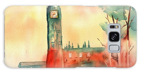 Big Ben    Elizabeth Tower Galaxy Case by Sharon Mick