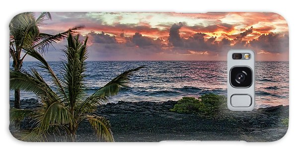 Big Island Sunrise Galaxy Case